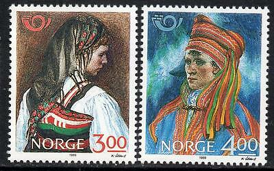 NORWAY MNH 1989 Northern edition - National costumes