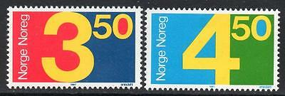 NORWAY MNH 1987 Numeral Stamps