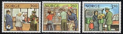 NORWAY MNH 1984 Postal work