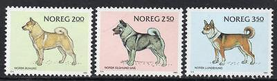 NORWAY MNH 1983 Dog Breeds
