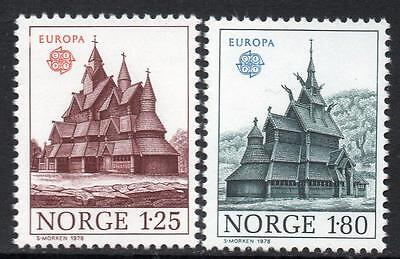 NORWAY MNH 1978 Eurostamps