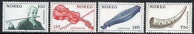 NORWAY MNH 1978 Musical instruments