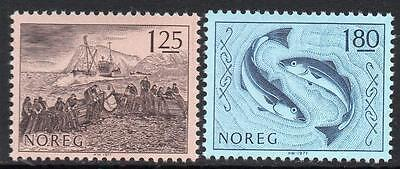 NORWAY MNH 1977 Fishing industry