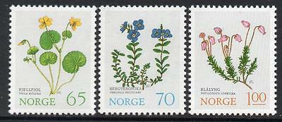 NORWAY MNH 1973 Mountain Flowers