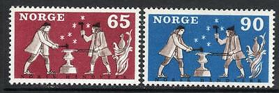 NORWAY MNH 1968 Norwegian handicraft
