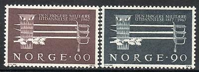 NORWAY MNH 1967 The 150th anniversary of the higher military education