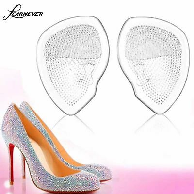 Soft Gel Silicone Cushion Pad Inserts High Heel Shoe Insoles Ball Party Foot NEW
