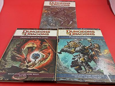 Dungeons & Dragons Dungeons Master Starting Bundle 4th Edition - Core Rules
