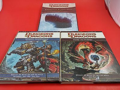 Dungeons & Dragons Dungeons Master Starting Bundle 4th Edition FRENCH Core Rules