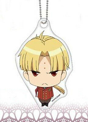 D.Gray-Man Kanda Yuu Miagete Mascot Vinyl Key Chain Anime Manga NEW