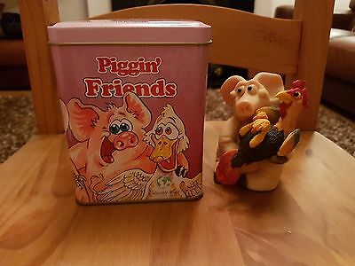 Piggin Friends collectable by David Corbridge - In Original Box