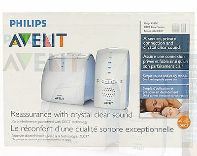 New Philips Avent Dect Baby Monitor - Scd 510/00