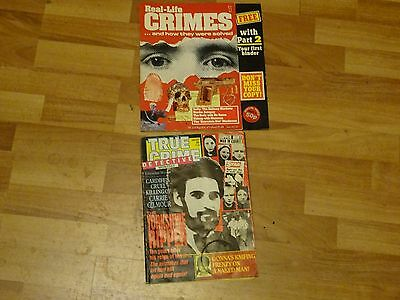 real life crimes issue 1 magazine and true crimes detective