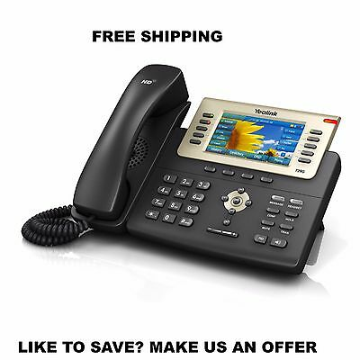 Yealink YEA-SIP-T29G Executive Dual-port Gigabit Ethernet Phone w/POE