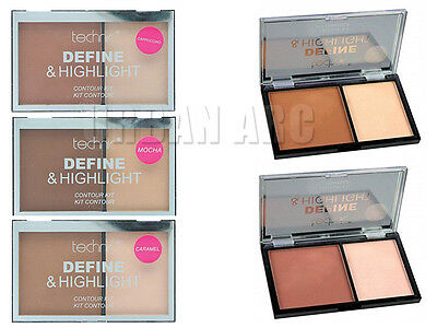 Technic Define & Highlight Contour Kit - Bronzer & Highlighter Powder