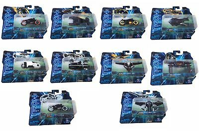 Tron Legacy Collectors Diecast Series 2 1:50 Scale Models - 10 Different - NEW
