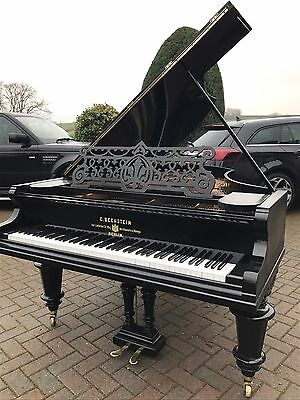 """Bechstein Grand Piano 6"""".6 Black Reconditioned Free Uk Delivery"""