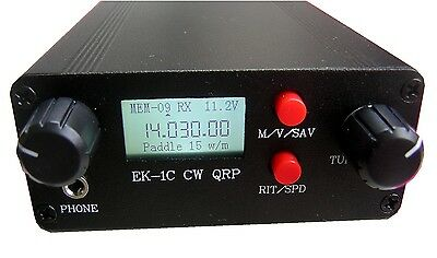 Youkits EK1C 3 band CW transceiver fully assembled and tested
