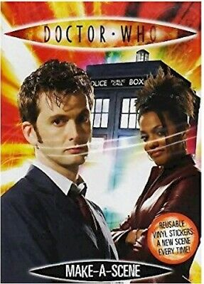 Doctor Who Make A Scene Sticker Books - Wholesale/Party Bag Bundle of 25 - NEW