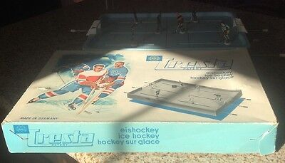Original Early 1960's German Miegs Cresta Table Hockey Game