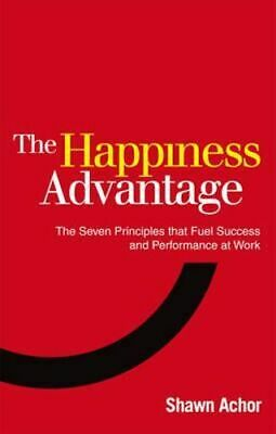 NEW The Happiness Advantage By Shawn Achor Paperback Free Shipping