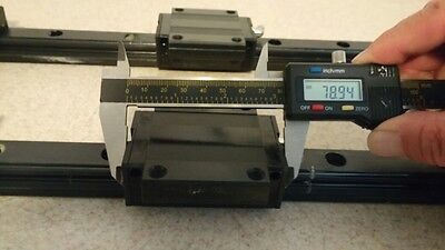 NSK Linear Bearing LH25 630mm 2Rails 4Blocks Japan CNC Router