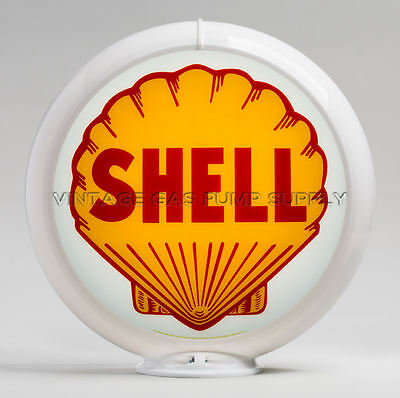 "Shell 13.5"" Gas Pump Globe (G175)"