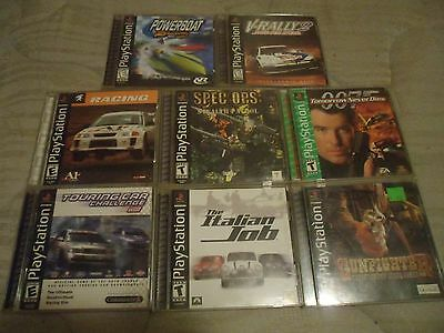 Play Station One (1) Game Lot