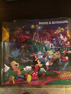 New Walt Disney World Resort Autograph Book and Photo Album with Pen New