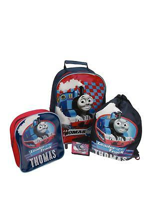 Thomas the Tank Holiday Weekend 4 Piece Luggage Travel Set - NEW