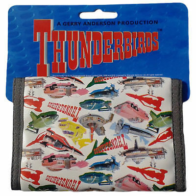 Thunderbirds Wallet Bright colourful design featuring TB1, TB2, FAB1 & more!