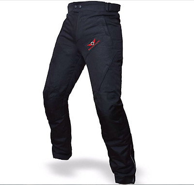 Mens/Womens Cordura Waterproof CE Armoured Motorbike Motorcycle Trousers / Pants
