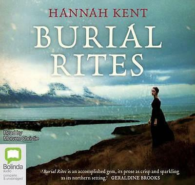 NEW Burial Rites By Hannah Kent Audio CD Free Shipping