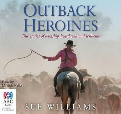 NEW Outback Heroines By Sue Williams Audio CD Free Shipping