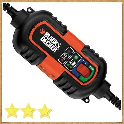 Cargador De Baterias, 6-12V   Black and Decker