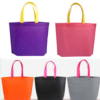 Fabric Storage  Reusable Shopping Bags Tote Foldable Grocery Bags Recycle Cloth