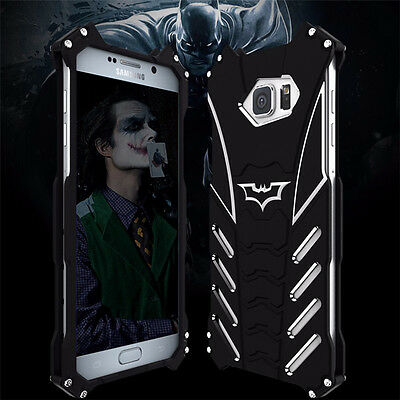 R-JUST Batman Aluminum Metal Back Case Cover for Samsung Galaxy S6 S7 edge Note5
