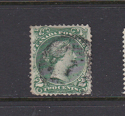 Canada #24 2 Cent Large Queen Used