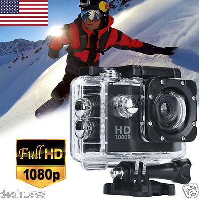 Pro Full 1080P HD Helmet Camcorder Sports Action Waterproof Camera DV For Gopro