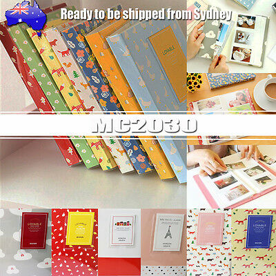 84 Pockets Photo Album Mini Polaroid FujiFilm Instax Film Camera card/ID holder