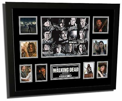 The Walking Dead Season 7 Cast Signed Limited Edition Framed Memorabilia