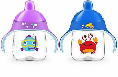 Philips Avent Sip, No Drip Mix Fish Or Crab Cup