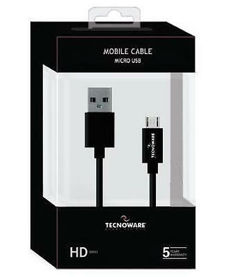 Mobile Cable Micro Usb 1Mt Gommato Black