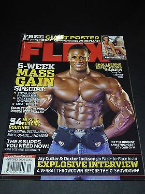 UK Flex Magazine Oct 2008 Many Others Available Discounted Multiple Purchases!