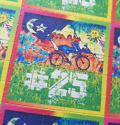 HOFMANN #25 - blotter art - psychedelic goa acid artwork