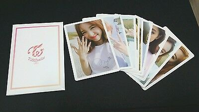 TWICE TWICECOASTER : Lane1 Pre-Order Official PHOTOCARD 9PCS SET Limited Q'ty
