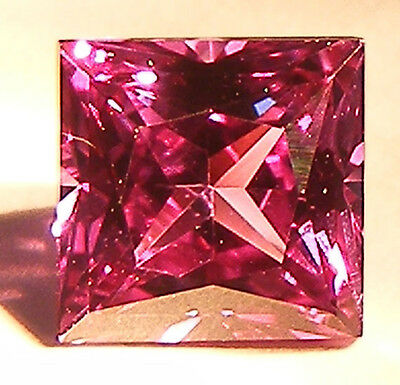 1.60CT. EXCELLENT PRINCESS CUT 6x6 MM. COLOUR CHANGE ALEXANDRITE SIMULATED GEM