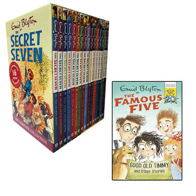 Complete Secret Seven 17 Books Collection Box Set Good Old Timmy and Other Stori