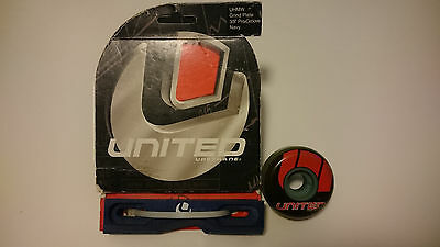 United grind plates and United wheel rollerblade aggressive inline vintage