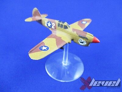 P-40 Warhawk [x1] USA [Flames of War] Painted